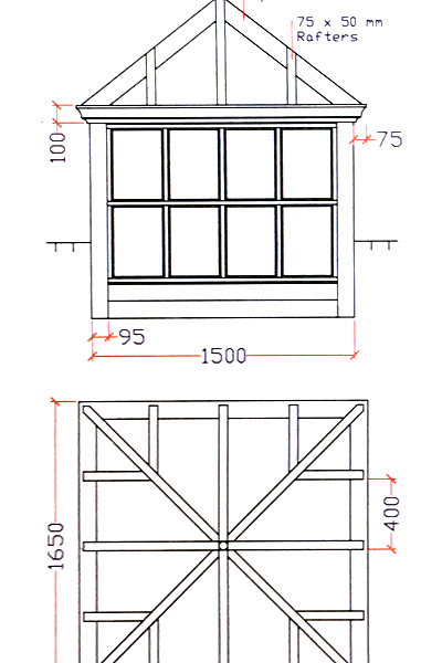 Dunstable Joinery CAD Drawing