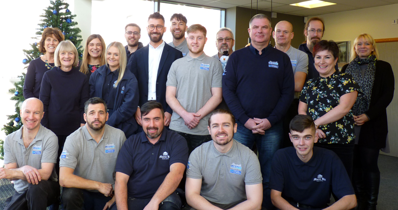 Dunstable Joinery and Laminates Group Photo